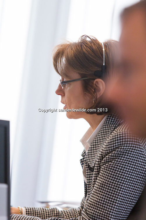 reportage images of crew at the Commerzbank AG Boulevard Louis Schmidt 29, B-1040 Brussels
