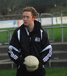 Four time All-Ireland Senior medal winner Colm 'The Gooch' Cooper and AIB's Youth Ambassador was visiting Mayo on friday. He spent over an hour coaching the Rice College 1st year team ...Pic Conor McKeown