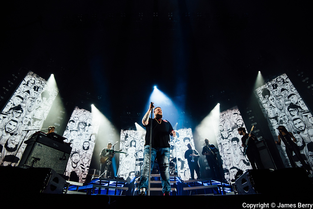 Rag n Bone Man (real name Rory Charles Graham) performs his largest headline show to date live at Alexandra Palace, London on Thursday 8 March 2018.