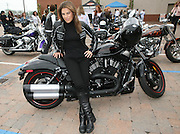 Health and wellness expert Jillian Michaels, attends a party to commemorate today as the 3rd Annual International Female Ride Day, Friday, May 1, 2009, in Rochelle Park, N.J., and to kick-start Harley-Davidson's Women Riders Month.  (Photo by Diane Bondareff)