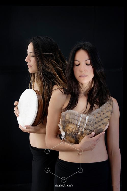 Two embodied shamanic women.