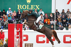 Veniss Pedro, (BRA), Quabri de L Isle <br /> CP International Grand Prix presented by Rolex<br /> Spruce Meadows Masters - Calgary 2015<br /> © Hippo Foto - Dirk Caremans<br /> 13/09/15