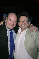 Paul McGuinness and Lucian Grainge Chairman and CEO of UMI