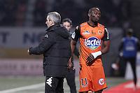 Denis ZANKO / Mamadou DIALLO  - 06.03.2015 - Nancy / Laval - 27eme journee de Ligue 2 <br />Photo : Fred Marvaux / Icon Sport