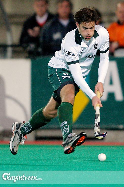 ROTTERDAM - Rotterdam - HDM, Hoofdklasse hockey heren, seizoen 2010-2011, 30-03-2011, Maurits Hertzberger