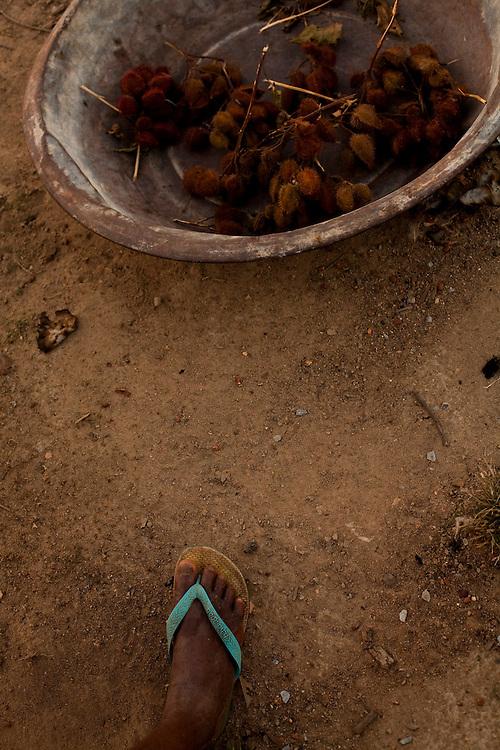 Inhauma_MG, Brasil...Moradora da cidade de Inhauma...A woman, She lives in Inhauma...Foto: LEO DRUMOND / NITRO