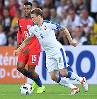2016.06.20 Saint-Etienne<br /> Pilka nozna Euro 2016<br /> mecz grupy C Slowacja - Anglia<br /> N/z Ondrej Duda<br /> Foto Lukasz Laskowski / PressFocus<br /> <br /> 2016.06.20 Saint-Etienne<br /> Football UEFA Euro 2016 group C game between Slovaki and England<br /> Ondrej Duda<br /> Credit: Lukasz Laskowski / PressFocus