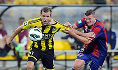 Wellington-Football, A-League, Phoenix v Newcastle Jets FC, February 27