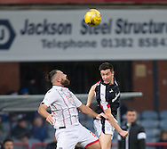 Dundee&rsquo;s Cammy Kerr and Ross County&rsquo;s Kenny van der Weg - Dundee v Ross County in the Ladbrokes Scottish Premiership at Dens Park, Dundee. Photo: David Young<br /> <br />  - &copy; David Young - www.davidyoungphoto.co.uk - email: davidyoungphoto@gmail.com