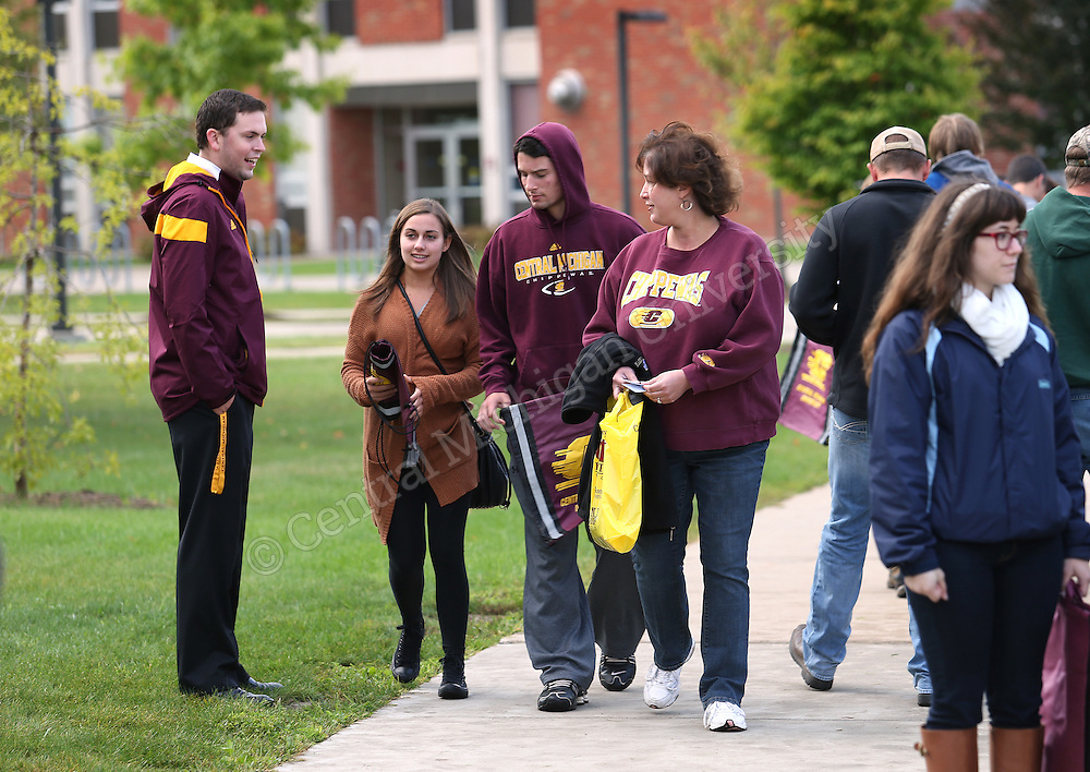 CMU and You Day on Saturday September 13, 2014. Photo by Steve Jessmore/Central Michigan University