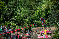 NEWKIRK Anna (USA) at 2019 UCI Mountain Bike Downhill World Championships in Mont-Sainte-Anne, Canada.