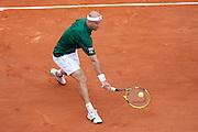 Roland Garros 2011. Paris, France. May 28th 2011..Croatian player Ivan LJUBICIC against Rafael NADAL