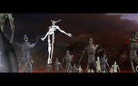 """Animator, Creator, Director - Tramaine Dion has brought his ruckus of characters to life in his debut 3D animated music video, """"Lapis Philosophorum"""" for the metal band Junior Bruce off their forth coming album Endless Descent via A389 Recordings."""