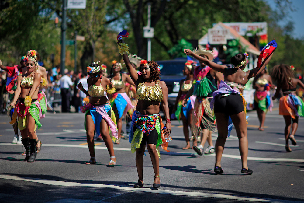 West Indian American Day Parade.  Crown Heights, Brooklyn