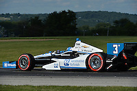 Helio Castroneves, Honda Indy 200 at Mid Ohio, Mid Ohio Sports Car Course, Lexington, OH USA 08/04/13