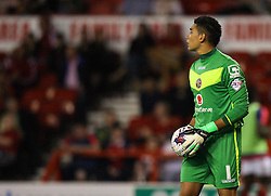 Neil Etheridge of Walsall - Mandatory byline: Jack Phillips / JMP - 07966386802 - 11/08/15 - FOOTBALL - The City Ground - Nottingham, Nottinghamshire - Nottingham Forest v Walsall - Football League Cup Round 1