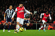 Arsenal v West Bromwich Albion 081212