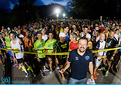 Marko Roblek at 10th Nocna 10ka 2016, traditional run around Bled's lake, on July 09, 2016 in Bled,  Slovenia. Photo by Vid Ponikvar / Sportida