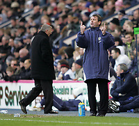 Photo: Lee Earle.<br /> West Bromwich Albion v Manchester United. The Barclays Premiership. 18/03/2006. Albion manager Bryan Robson (R).