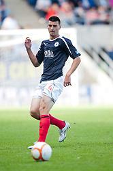 Falkirk's Jonathan Flynn..Falkirk v Raith Rovers, 18/8/2012..
