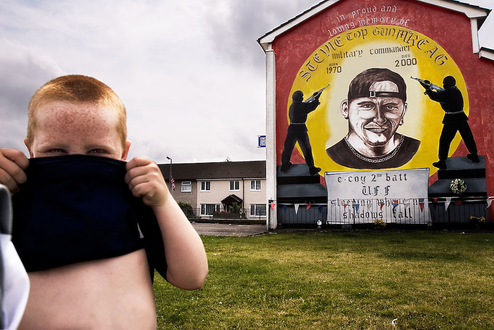 lower shankill, belfast, northern ireland, 2006