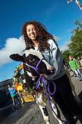 Isabel Rodriguez, Strolling of the Heifers, Brattleboro, Vermont