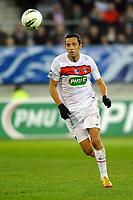 FOOTBALL - FRENCH CUP 2011/2012 - 1/16 FINAL - SABLE FC v PARIS SAINT GERMAIN - 20/01/2012 - PHOTO PASCAL ALLEE / DPPI - NENE (PSG)
