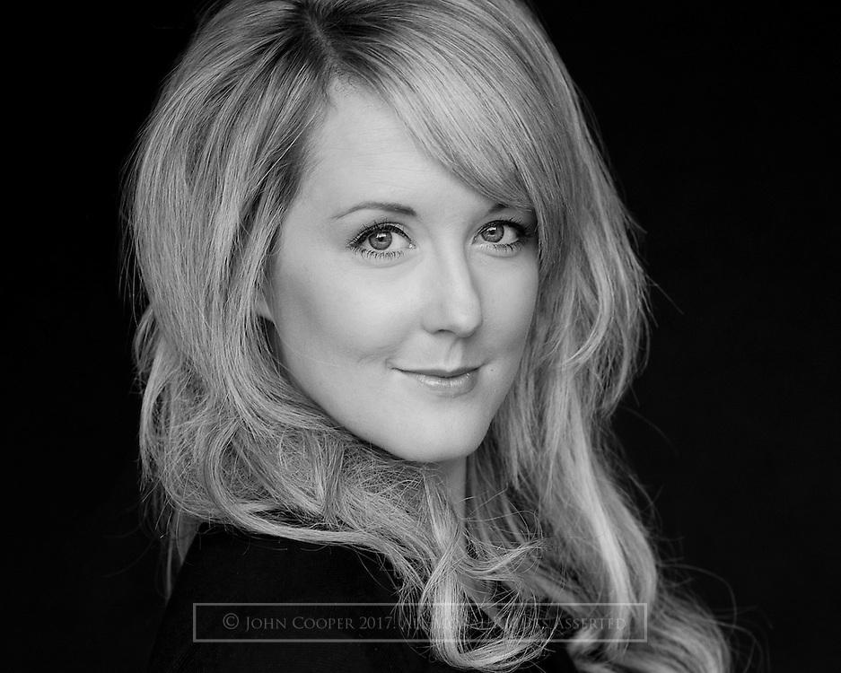 Headshot of actress, Pamela Byrne.
