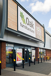 Oak Furniture Land Rotherham Store Celebration Breakfast with Man of Steel at the opening of the Oak Furniture Land Rotherham Store. The cake will be donated to Rotherham Hospice who will use it to help raise funds<br /> <br /> 3 June 2015<br />  Image &copy; Paul David Drabble <br />  www.pauldaviddrabble.co.uk