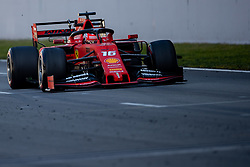 February 28, 2019 - Montmelo, Barcelona, Calatonia, Spain - Charles Leclerc of Scuderia Ferrari seen in action during the second week F1 Test Days in Montmelo circuit, Catalonia, Spain. (Credit Image: © Javier Martinez De La Puente/SOPA Images via ZUMA Wire)