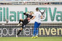 August 27, 2017 - Gent, BELGIUM - Gent's goalkeeper Yannick Thoelen fight for the ball during the Jupiler Pro League match between KAA Gent and RSC Anderlecht, in Gent, Sunday 27 August 2017, on the fifth day of the Jupiler Pro League, the Belgian soccer championship season 2017-2018. BELGA PHOTO JASPER JACOBS (Credit Image: © Jasper Jacobs/Belga via ZUMA Press)