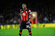 AFC Bournemouth forward Benik Afobe during the Barclays Premier League match between Bournemouth and West Ham United at the Goldsands Stadium, Bournemouth, England on 12 January 2016. Photo by Graham Hunt.