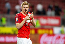 Martin Hinteregger of Austria  after the 2020 UEFA European Championships group G qualifying match between Austria and Slovenia at Wörthersee Stadion on June 7, 2019 in Klagenfurt, Austria. Photo by Vid Ponikvar / Sportida