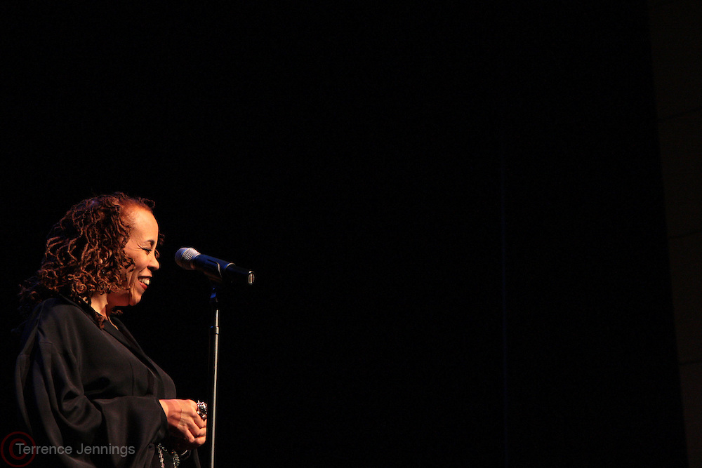 21 March 2011- New York, NY- Maggie Brown performs at The Schomburg Center's Women's Jazz Festival Presents ' Maggie Sings Abbey: A Tribute to Abbey held at the Schomburg Center on March 21, 2011 in Harlem. Photo Credit: Terrence Jennings for The Schomburg Center