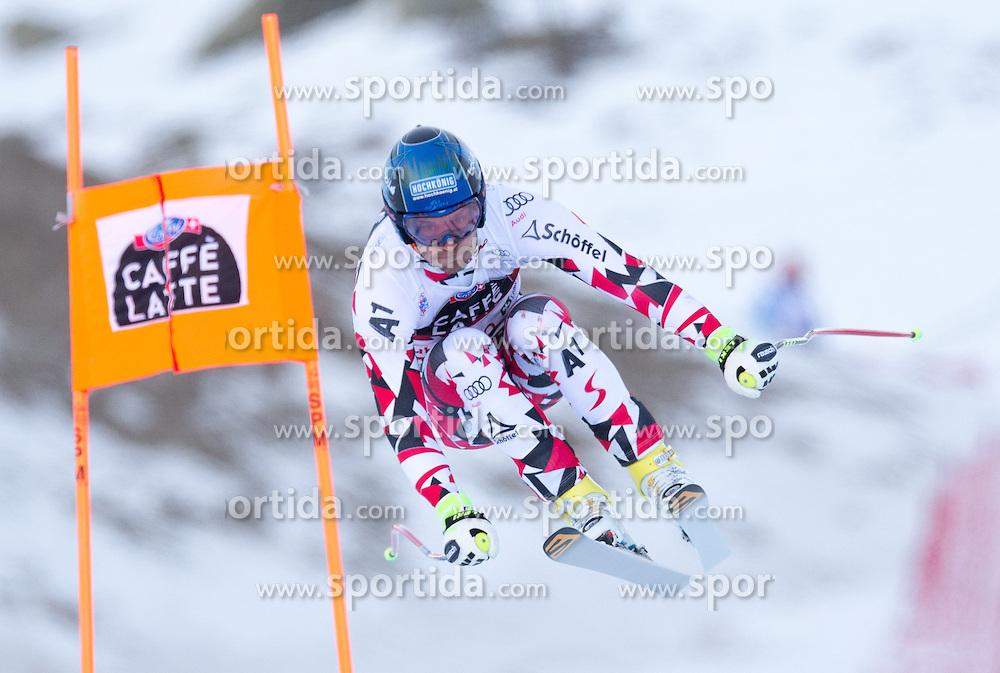 28.12.2015, Deborah Compagnoni Rennstrecke, Santa Caterina, ITA, FIS Ski Weltcup, Santa Caterina, Abfahrt, Herren, 2. Training, im Bild Patrick Schweiger (AUT) // Patrick Schweiger of Austria in action during the 2nd practice run of men's Downhill of the Santa Caterina FIS Ski Alpine World Cup at the Deborah Compagnoni Course in Santa Caterina, Italy on 2015/12/28. EXPA Pictures © 2015, PhotoCredit: EXPA/ Johann Groder