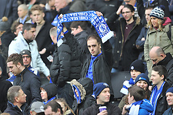 CHELSEA FANS,  MK Dons v Chelsea,  FA Cup 4th Round Stadium MK Sunday 31st January 2016