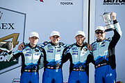 January 25-26, 2020. IMSA Weathertech Series. Rolex Daytona 24hr. #44 GRT Magnus Racing, Lamborghini Huracan GT3, GTD: John Potter, Andy Lally, Spencer Pumpelly, Marco Mapelli