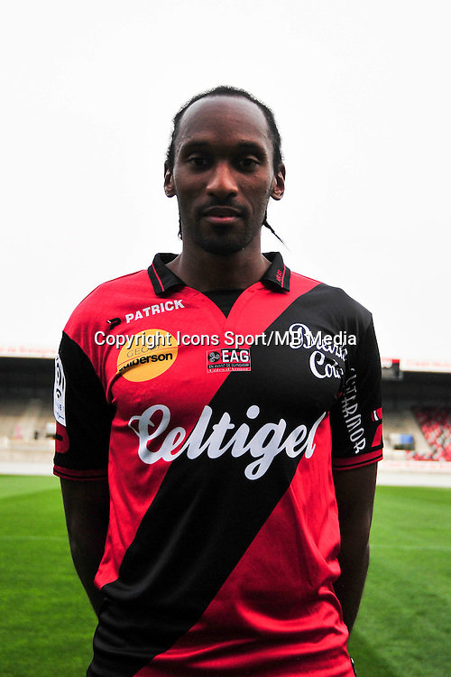 Jeremy SORBON - 16.09.2014 - Photo officielle Guingamp - Ligue 1 2014/2015<br /> Photo : Philippe Le Brech / Icon Sport