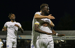 Mohamed Eisa of Peterborough United celebrates scoring his goal - Mandatory by-line: Joe Dent/JMP - 20/08/2019 - FOOTBALL - Roots Hall - Southend-on-Sea, England - Southend United v Peterborough United - Sky Bet League One