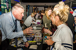 Pictured: PC David Cumming chats to some new students about cyber security<br /> <br /> Police Scotland today delivered student safety advice during freshers' weeks around the country as part of the Student Safety Campaign. Inspector David Happs was on hand in Edinburgh to speak to new students.<br /> <br /> Ger Harley: 1 September 2017