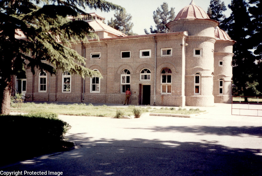 1995<br /> Towards the end of Amir Habibullah's reign, in 1917, a large audience hall (talar) was added onto the west end of the Qasre Stor Building.