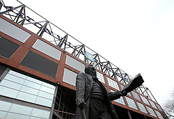 The William McGregor Statue outside Villa Park, home of Aston Villa - Mandatory by-line: Robbie Stephenson/JMP - 13/04/2018 - FOOTBALL - Villa Park - Birmingham, England - Aston Villa v Leeds United - Sky Bet Championship