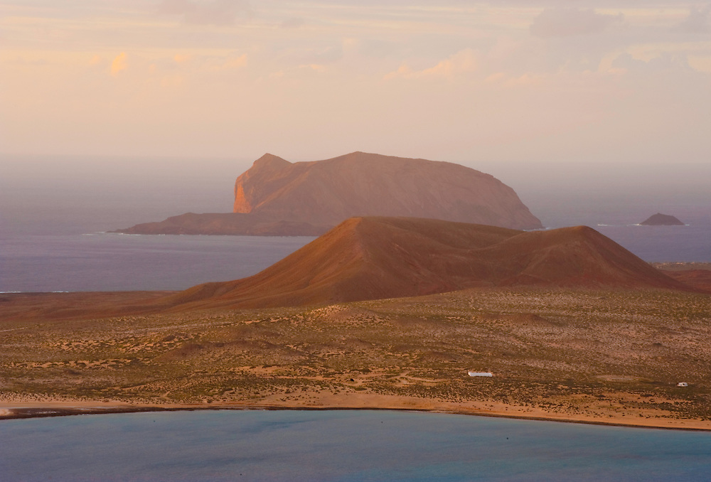 Chiniko Archipielago from the mainland of Lanzarote Island, Canary Islands. Spain
