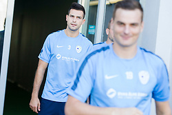 Miral Samardzic during practice session of Slovenian National Football Team before Euro 2016 Qualifications match against Switzerland, on September 1, 2015 in SRC Stozice, Ljubljana, Slovenia. Photo by Urban Urbanc / Sportida