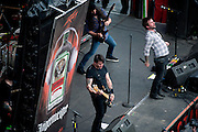 The Damned Things performing at Rock on the Range at Crew Stadium in Columbus, OH on May 22, 2011
