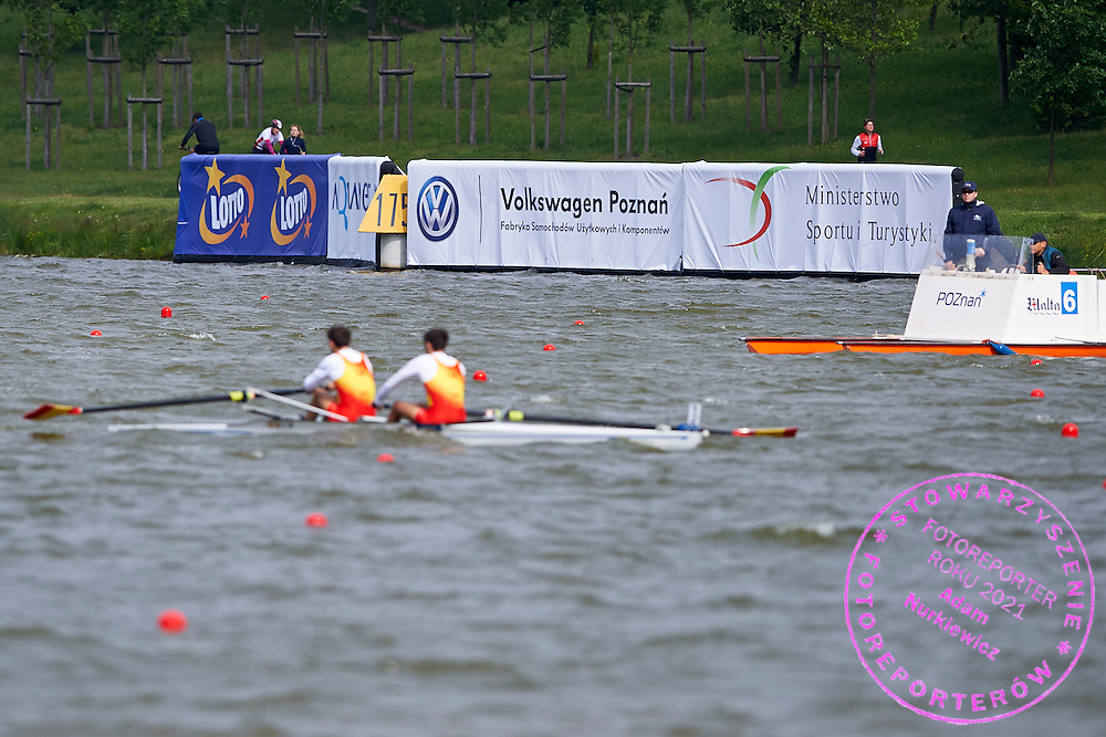 Lotto &amp; Volkswagen &amp; MSiT advertise display during second day the 2015 European Rowing Championships on Malta Lake on May 30, 2015 in Poznan, Poland<br /> Poland, Poznan, May 30, 2015<br /> <br /> Picture also available in RAW (NEF) or TIFF format on special request.<br /> <br /> For editorial use only. Any commercial or promotional use requires permission.<br /> <br /> Mandatory credit:<br /> Photo by &copy; Adam Nurkiewicz / Mediasport