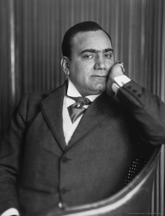 Enrico Caruso, tenor, c1912