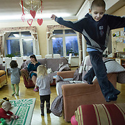 The shelter, Dacha House provides a homely environment for children to recover from cancer treatment.