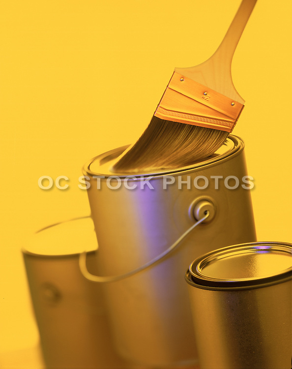 Painting Home Improvement Stock Photo