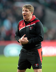 December 27, 2016 - London, England, United Kingdom - Jonny Bell Defence Coach  of Gloucester during Aviva Premiership Rugby Big Game 9 match between Harlequins and Gloucester Rugby at The Twickenham Stadium, London on 27 Dec 2016  (Credit Image: © Kieran Galvin/NurPhoto via ZUMA Press)